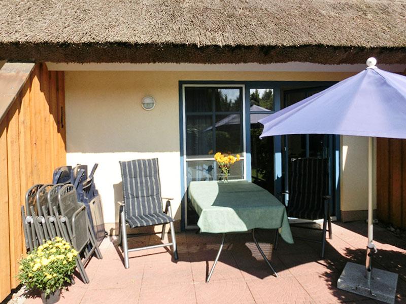 Ferienwohnung Malve 3 - Terrasse