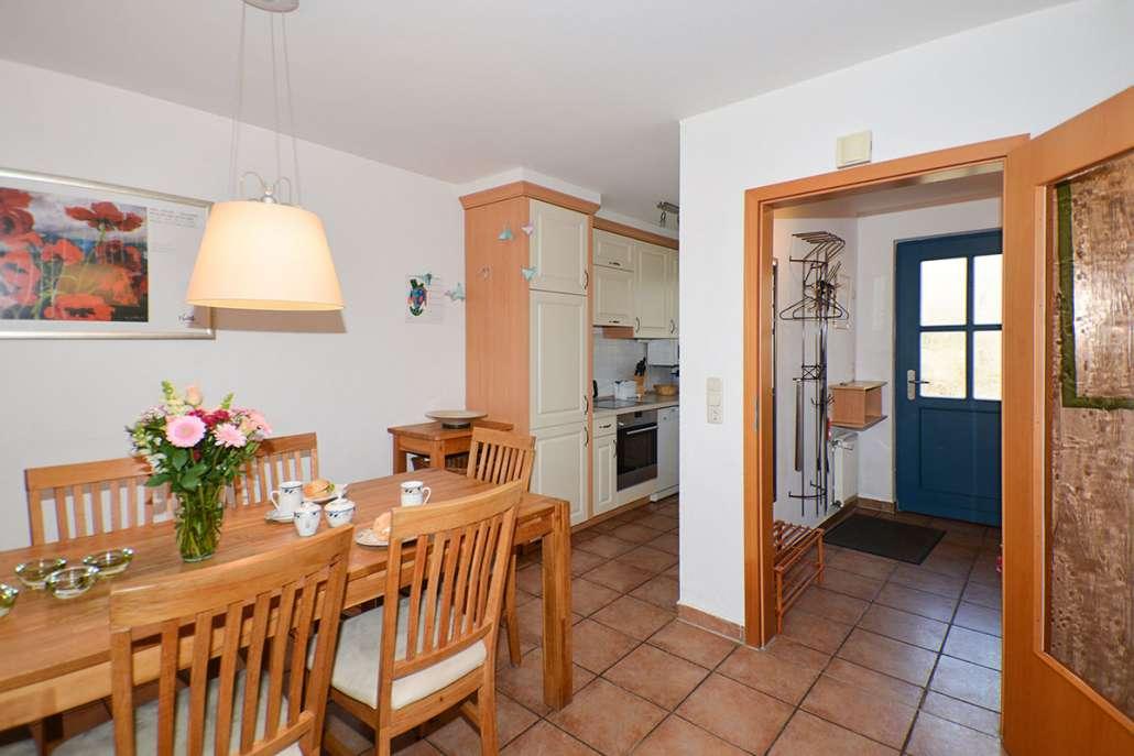 Ferienwohnung Malve 3 - Wohnraum, Küche