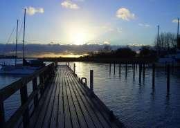 Neuer Hafen Puddemin auf Rügen